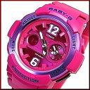 CASIO/Baby-G【カシオ/ベビーG】ビッグナンバーインデックス レディース腕時計 ピンク(国内正規品)BGA-210-4B2JF