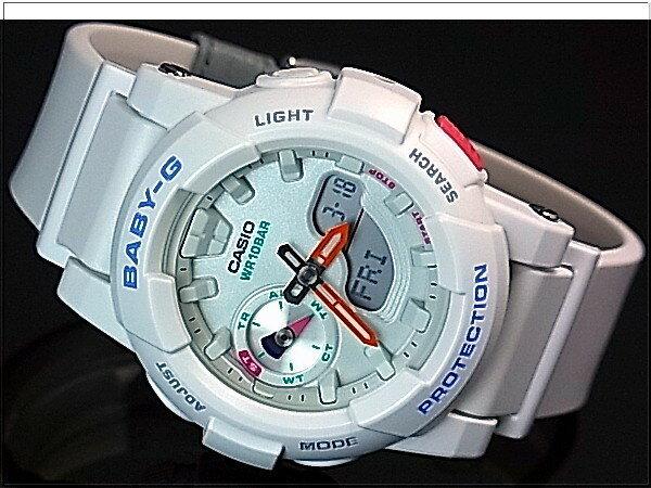 CASIO/BABY-G【カシオ/ベビーG】for running レディース腕時計 ホワイト(国内正規品)BGA-185-7AJF