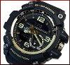 CASIO/G-SHOCK【カシオ/Gショック】MUDMASTER/マッドマスターヴィンテージブラック&ゴールドマッドレジスト&ツインセンサー搭載メンズ腕時計ブラック/ゴールド(海外モデル)GG-1000GB-1A