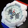 CASIO/G-SHOCK【カシオ/Gショック】TricolorSeries/トリコロール・シリーズメンズ腕時計(海外モデル)GA-120TRM-7A