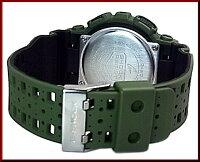 CASIO/G-SHOCK/Baby-G【カシオ/Gショック/ベビーG】パンチング・パターン・シリーズペアウォッチアナデジ腕時計モスグリーン/ネイビー(国内正規品)GA-110LP-3AJF/BA-110PP-2AJF