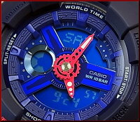 CASIO/Baby-G【カシオ/ベビーG】PunchingPatternSeries/パンチング・パターン・シリーズアナデジレディース腕時計ネイビー(国内正規品)BA-110PP-2AJF