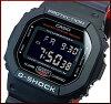 CASIO/G-SHOCK【カシオ/Gショック】メンズ腕時計Black&RedSeries/ブラック&レッドシリーズ(海外モデル)DW-5600HR-1