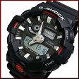 CASIO/G-SHOCK【カシオ/Gショック】アナデジモデル メンズ腕時計 ブラック(海外モデル)GA-700-1A