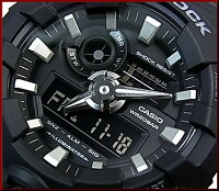 CASIO/G-SHOCK/Baby-G【カシオ/Gショック/ベビーG】ペアウォッチアナデジ腕時計ブラック(国内正規品)GA-700-1BJF/BGA-180-1BJF