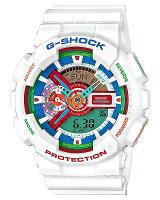 CASIO/G-SHOCK【カシオ/Gショック】CrazyColors/クレイジー・カラーズアナデジメンズ腕時計ホワイト(国内正規品)GA-110MC-7AJF