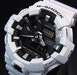 CASIO/G-SHOCK【カシオ/Gショック】アナデジモデル メンズ腕時計 ホワイト(国内正規品)GA-700-7AJF