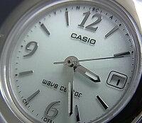 CASIO/WaveCeptor【カシオ/ウェーブセプター】レディースソーラー電波腕時計ホワイト文字盤メタルベルトLWQ-10DJ-7A1JF(国内正規品)