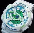 CASIO/G-SHOCK【カシオ/Gショック】アナデジ メンズ腕時計 ホワイト(国内正規品)GA-110WG-7AJF