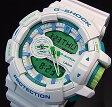 CASIO/G-SHOCK【カシオ/Gショック】アナデジ メンズ腕時計 スポーティミックス ホワイト(国内正規品)GA-400WG-7AJF