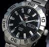SEIKO/SEIKO5Sports【セイコー5スポーツ/ファイブスポーツ】自動巻メンズ腕時計メタルベルトブラック文字盤海外モデルSRPA51K1