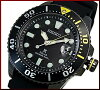 SEIKO/PROSPEX【セイコー/プロスペックス】メンズDIVER'S/ダイバーズウォッチソーラー腕時計ブラックケースブラックラバーベルトブラック文字盤海外モデルSNE441P1