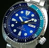SEIKO/PROSPEX/200mdiver'swatch【セイコー/プロスペックス/200m防水ダイバーズ】ブルーラグーン自動巻メンズ腕時計メタルベルトブルー文字盤海外モデルSRPB11K1