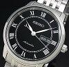 SEIKO/Presageメカニカル【セイコー/プレサージュ】自動巻メンズ腕時計ブラック文字盤メタルベルトSRP765J1MadeinJapan海外モデル