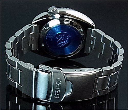 SEIKO/PROSPEX/200m diver's watch【セイコー/プロスペックス/200m防水ダイバーズ】PADI Special Edition 自動巻 ネイビー/レッドベゼル メンズ腕時計 メタルベルト ネイビー文字盤 MADE IN JAPAN 海外モデル【並行輸入品】 SRPA21J1