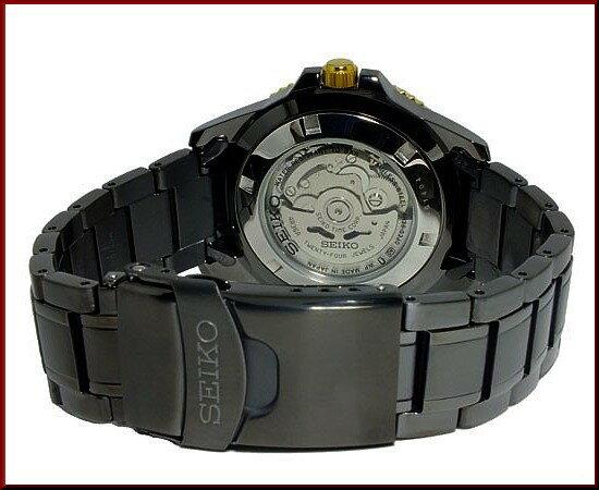 SEIKO/SEIKO5 Sports【セイコー5スポーツ/ファイブスポーツ】自動巻 メンズ腕時計 ブラックメタルベルト ブラック文字盤 MADE IN JAPAN 海外モデル【並行輸入品】SRP558J1