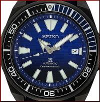 SEIKO/PROSPEX/200mdiver'swatch【セイコー/プロスペックス/200m防水ダイバーズ】セーブオーシャンサムライ自動巻メンズ腕時計ネイビーラバーベルトネイビー文字盤海外モデル【並行輸入品】SRPD09K1