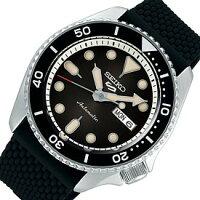 SEIKO/SEIKO5Sports【セイコー5スポーツ/ファイブスポーツ】自動巻メンズ腕時計ラバーベルトガンメタ文字盤海外モデル【並行輸入品】SRPD73K2