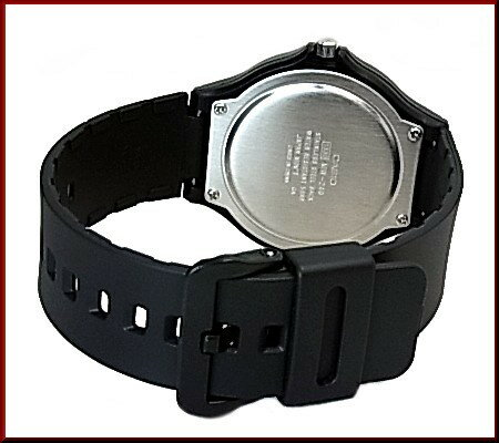 CASIO/Standard【カシオ/スタンダード】アナログクォーツ ペアウォッチ 腕時計 ラバーベルト ブラック/ブルー 海外モデル【並行輸入品】MW-240-2B/MQ-71-2B
