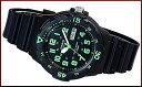 CASIO/Standard【カシオ/スタンダード】アナログクォーツ ペアウォッチ 腕時計 ラバーベルト ブラック/ホワイト 海外モデル【並行輸入品】MRW-200H-3B/LRW-200H-4E2 3