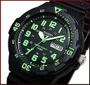 CASIO/Standard【カシオ/スタンダード】アナログクォーツ ペアウォッチ 腕時計 ラバーベルト ブラック/ホワイト 海外モデル【並行輸入品】MRW-200H-3B/LRW-200H-4E2 2