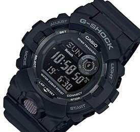 CASIO/G-SHOCK【カシオ/Gショック】G-SQUAD/ジー・スクワット ブルートゥース モバイルリンクモデル メンズ腕時計 ブラック 海外モデル【並行輸入品】GBD-800-1B