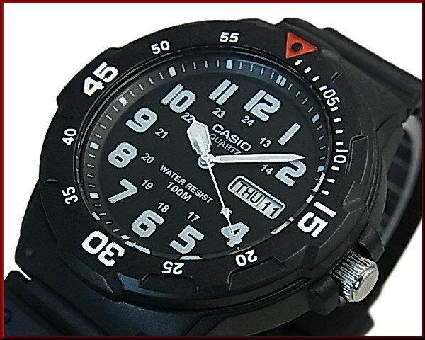 CASIO/Standard【カシオ/スタンダード】アナログクォーツ ペアウォッチ 腕時計 ラバーベルト ブラック/ホワイト 海外モデル【並行輸入品】MRW-200H-1B/LRW-200H-7B