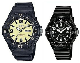 腕時計, ペアウォッチ CASIOStandard MRW-200H-5BLRW-200H-1B