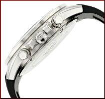 CASIO/EDIFICE【カシオ/エディフィス】クロノグラフメンズ腕時計ブラック文字盤ブラックラバーベルト海外モデル【並行輸入品】EFV-550P-1A