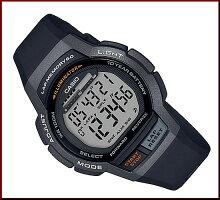 CASIO/SPORTSGEAR【カシオ/スポーツギア】ランニングウォッチメンズ腕時計ブラック海外モデル【並行輸入品】WS-1000H-1A