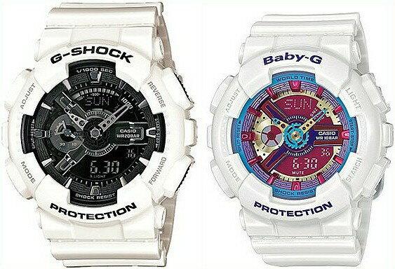 腕時計, ペアウォッチ CASIOG-SHOCKBaby-GGG GA-110GW-7ABA-112-7A