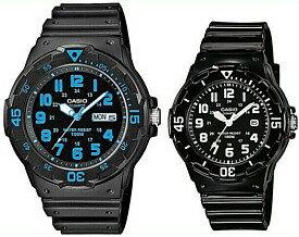 腕時計, ペアウォッチ CASIOStandard MRW-200H-2BLRW-200H-1B