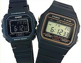 腕時計, ペアウォッチ CASIOStandard F-91WG-9QLA-20WH-1B
