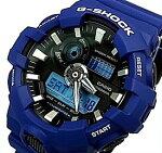 CASIO/G-SHOCK【カシオ/Gショック】アナデジモデルメンズ腕時計ネイビー(海外モデル)GA-700-2A