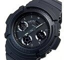 CASIO/G-SHOCK【カシオ/Gショック】デジアナモデル メンズ腕時計 ブラック 海外モデル【並行輸入品】 AW-591BB-1A
