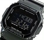 CASIO/G-SHOCK【カシオ/Gショック】GrossyBlackSeries/グロッシー・ブラックシリーズソーラー電波腕時計マルチバンド6(海外モデル)GW-M5610BB-1