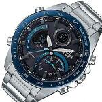 CASIO/EDIFICE【カシオ/エディフィス】ソーラー腕時計アネデジクロノグラフメンズスマートフォンリンク海外モデル【並行輸入品】ECB-900DB-1B