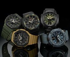 CASIO/G-SHOCK【カシオ/Gショック】カーボンコアガード構造アナデジモデルメンズ腕時計イエロー海外モデル【並行輸入品】GA-2110SU-9A