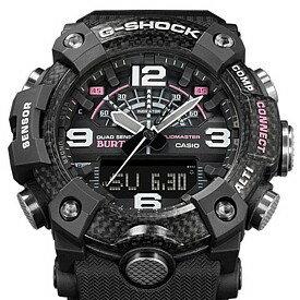 CASIO/G-SHOCK【カシオ/Gショック】MUDMASTER/マッドマスター BURTONコラボレーションモデル メンズ腕時計(国内正規品)GG-B100BTN-1AJR
