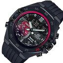 CASIO/EDIFICE【カシオ/エディフィス】メンズ腕時計 アネデジ クロノグラフ スマートフォンリンク ラバーベルト 海外モデル【並行輸入品】ECB-10TMS-1A