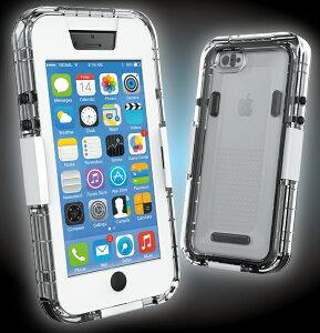 安心のIPX7防水性、耐久性に優れたポリカーボネート素材!iphone iPhone 6 ケース カバー 保護 ...