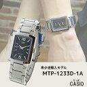 【希少逆輸入モデル】 カシオ CASIO クオーツ メンズ 腕時計 MTP-1233D-1ADF ブラック