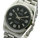 エルジン ELGIN 腕時計 メンズ fk1421s-b 10YEARS ブラック シルバー