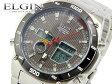 エルジン ELGIN 電波 ソーラー ワールドタイム 腕時計 FK1381S-BP ウォッチ 時計 うでどけい