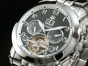 ジョンハリソンJHARRISON腕時計自動巻きメンズJH008-BBK