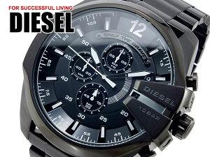ディーゼルDIESELメガチーフMEGACHIEFメンズ腕時計クロノグラフDZ4283Mensウォッチ時計うでどけいブラック
