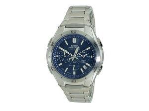 【24時間限定】カシオCASIOウェーブセプター電波ソーラー腕時計WVQ-M410DE-2A2JFネイビーメンズMens【ポイントアップ期間:2013/5/10:00~23:59】【RCP】