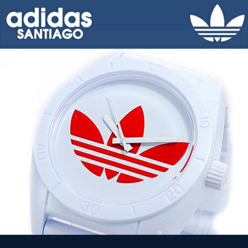 アディダス ADIDAS サンティアゴ クオーツ メンズ 腕時計 ADH2820 ホワイト