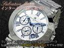 サルバトーレ マーラ SALVATORE MARRA クロノグラフ 腕時計 SM8005-SSWH