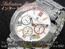サルバトーレ マーラ SALVATORE MARRA クロノグラフ 腕時計 SM8005-WHCL ウォッチ 時計 うでどけい